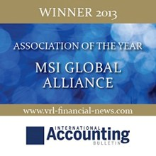 MSI Global Alliance Association of the Year